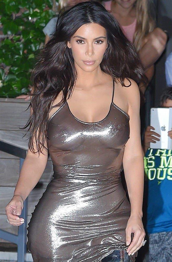 Kim Kardashian Nua Video E Fotos Pelada (1)