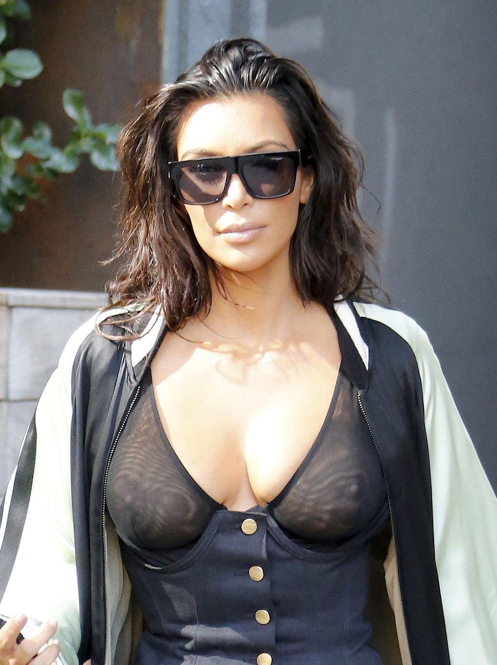 Kim Kardashian Nua Video E Fotos Pelada (13)