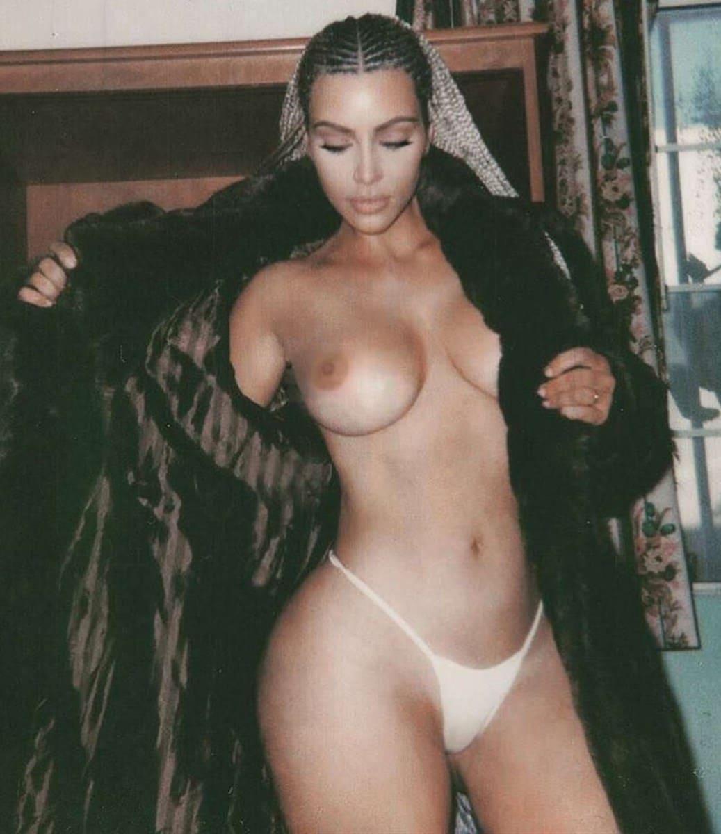 Kim Kardashian Nua Video E Fotos Pelada (31)