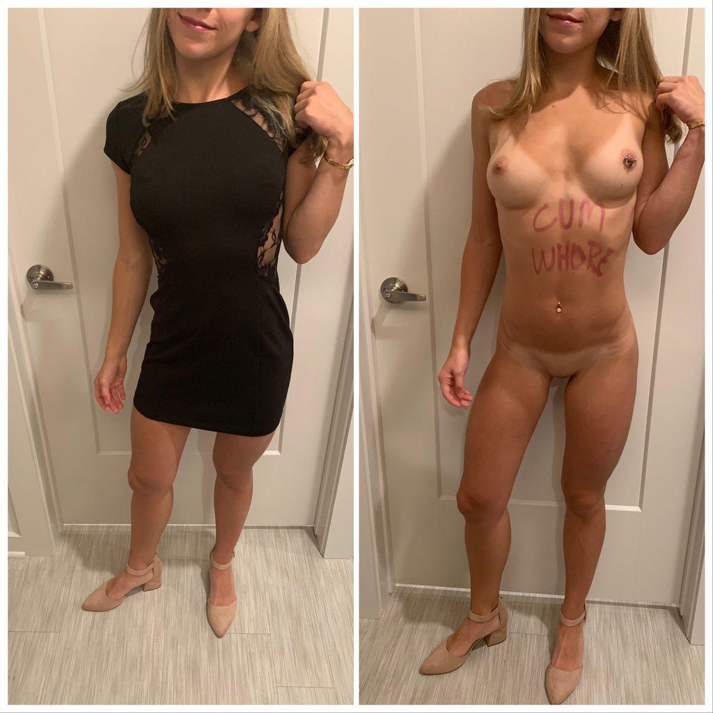 Fotos De Mulheres Com Roupa E Sem Roupa (1)