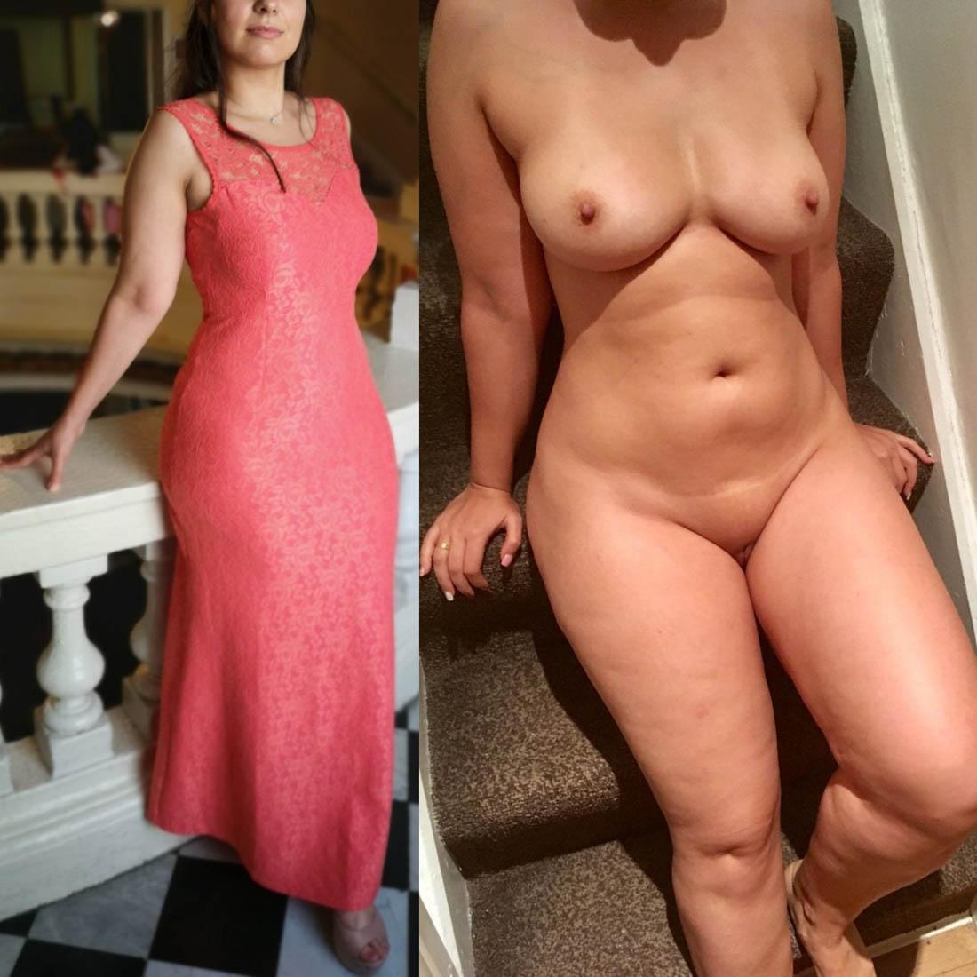 Fotos De Mulheres Com Roupa E Sem Roupa (3)