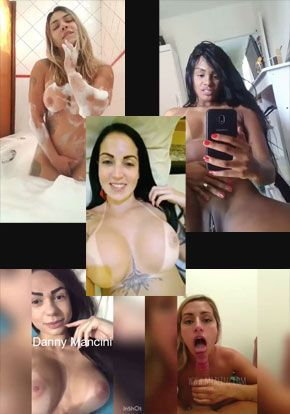 5 atrizes Brasileiras em videos amadores